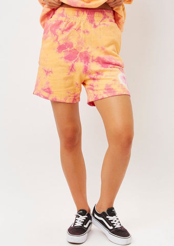 Burl Sweat Short - Sherbert Tie Dye