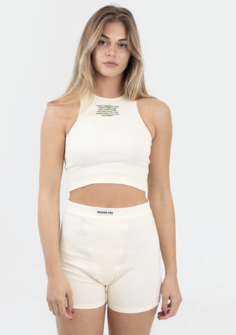 Mayfair PSA Loungewear Set- Cream