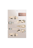 Micro Stackable Snap Clips - Gold
