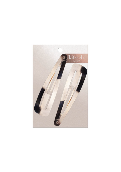Extra Large Snap Clips - Rose Gold
