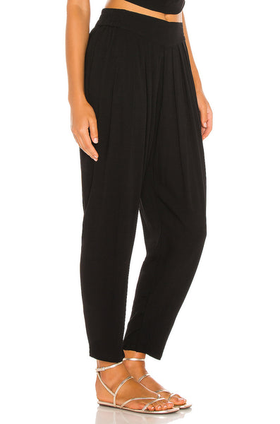 Tanah 80s Pleated Trouser - Black