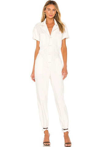 Grover Jumpsuit Antique White