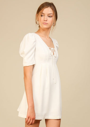 Day Break Puff Sleeve Dress