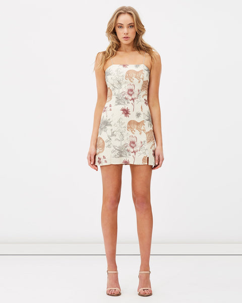 Animal Instinct Mini Dress
