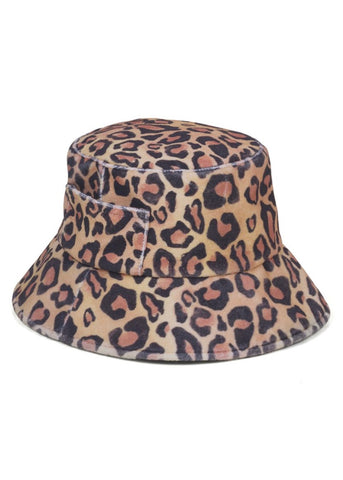 Wave Bucket Leopard