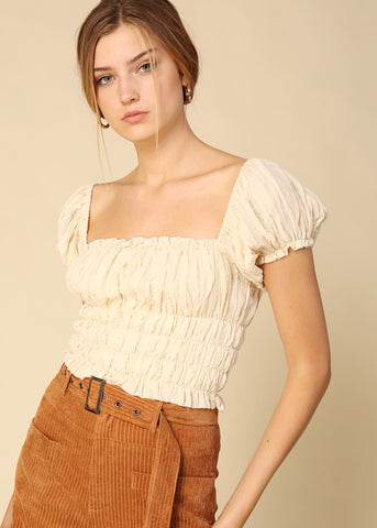 Quinn Short Sleeve Top