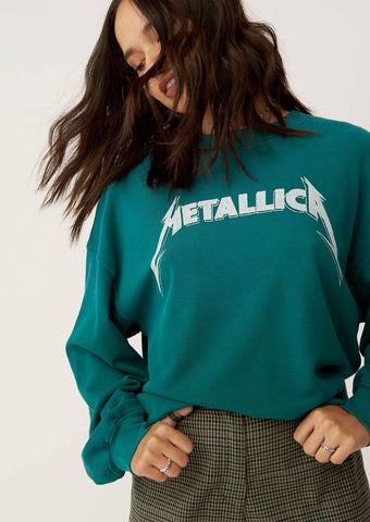 Metallica Birth School Death Sweatshirt
