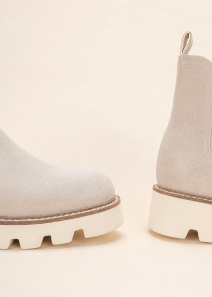Jessie Boot - Light Grey
