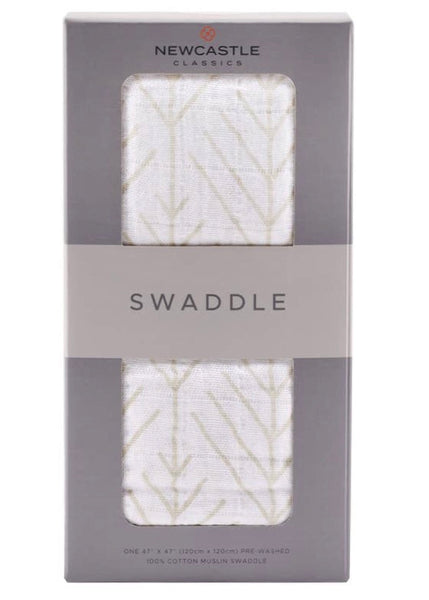 Printed Swaddle Forest Arrow