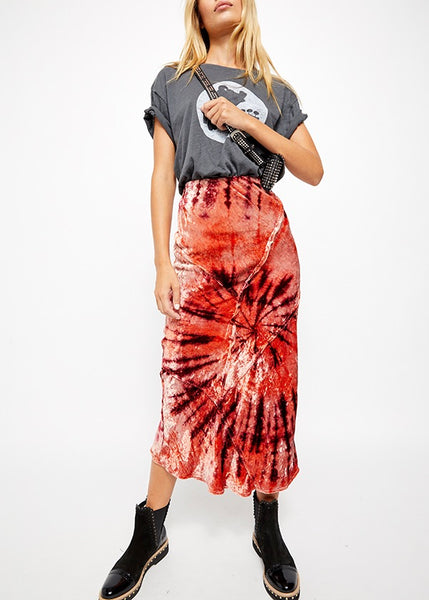 Serious Swagger Tie Dye Skirt