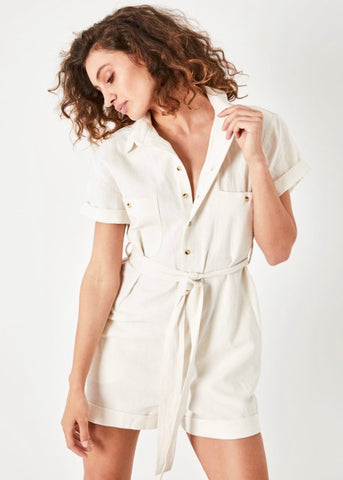 Horizon Playsuit Vintage White (Pre-Order)