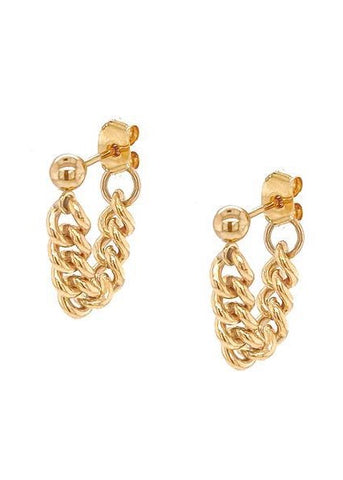 Kat Chain Earrings
