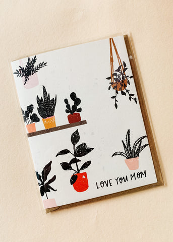 Plant Lady Mom Card