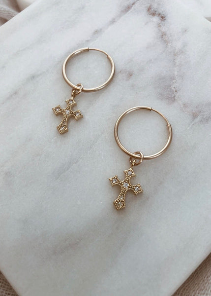 Crosses Earrings