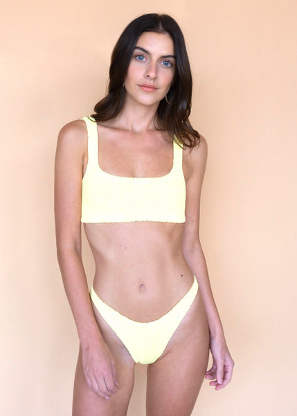 Cropped Bikini - Lemon
