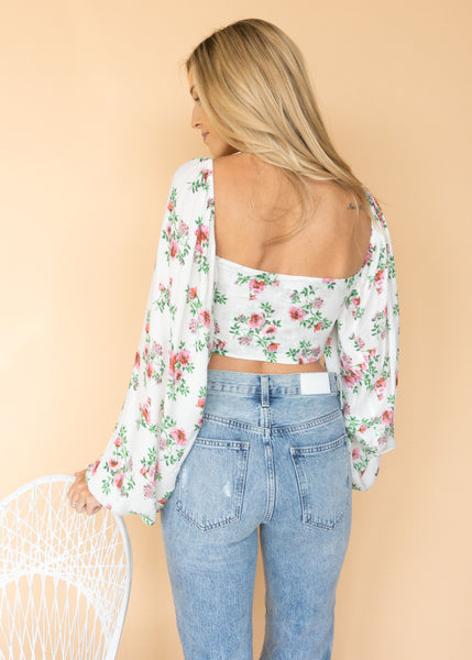Sweet as Pie Wrap Top