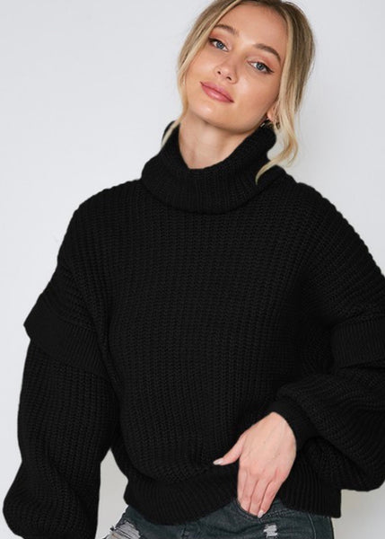 Gia Turtleneck Sweater