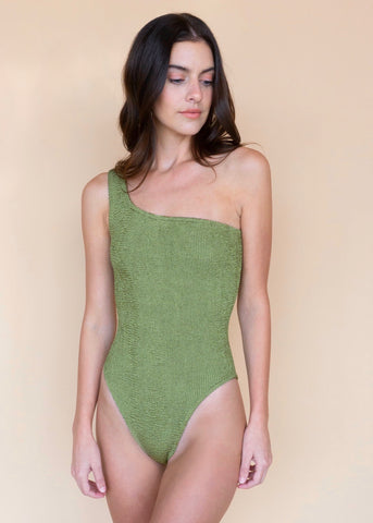 Nancy One Piece - Metallic Moss