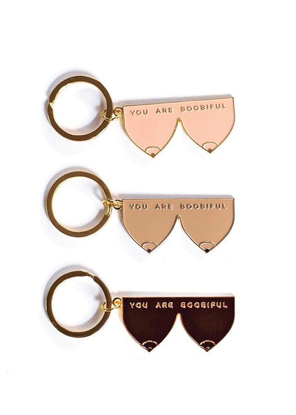 You Are Boobiful Keychain