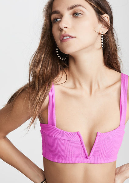 Lee Lee Top - Bright Fuchsia