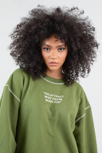 Mayfair PSA Olive Crewneck