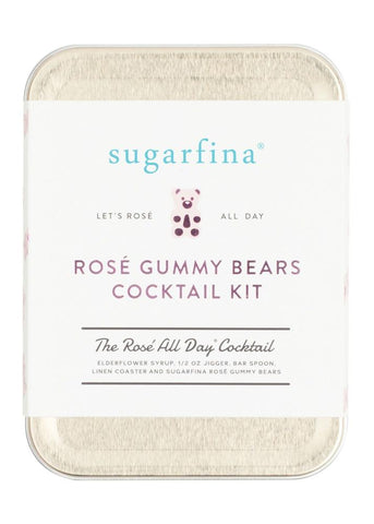 Rose Gummy Bears Cocktail Kit