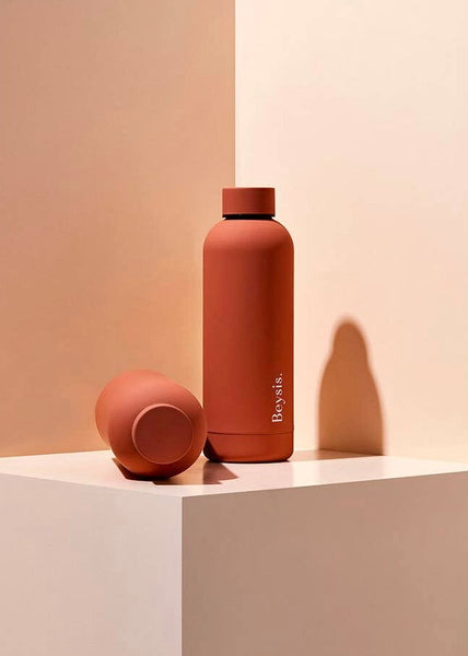 Stainless Steel Water Bottle Terracotta