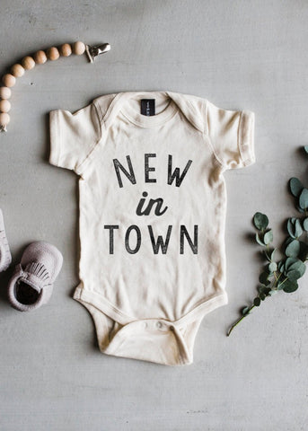 New In Town Onesie