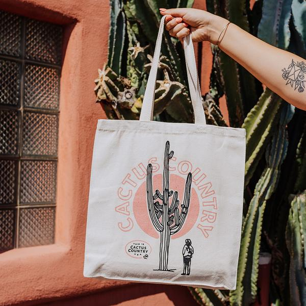 Cactus Country Travel Tote