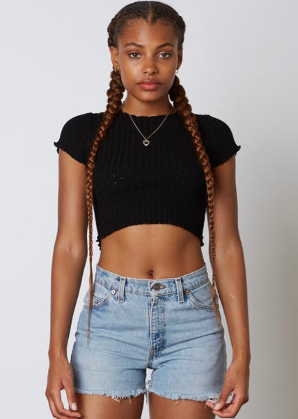 Study Break Top - Black