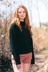 "RUBY BAMBOO FLEECE SWEATSHIRT (Extended Length 3"" Longer) - J76 Bamboo Wear"