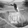 Straight Outta - Custom Text Decal