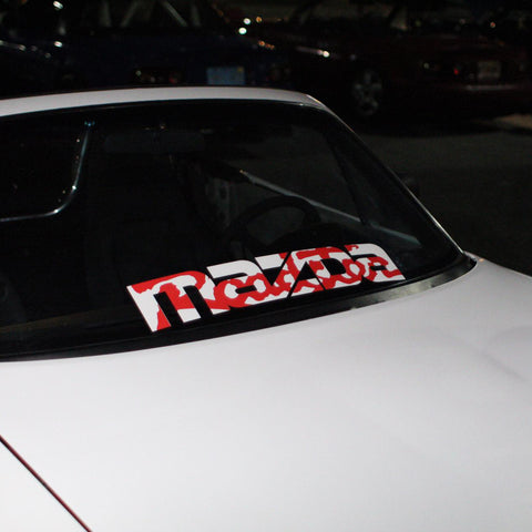 Printed Mazda Roadster Decal - 3 Styles!