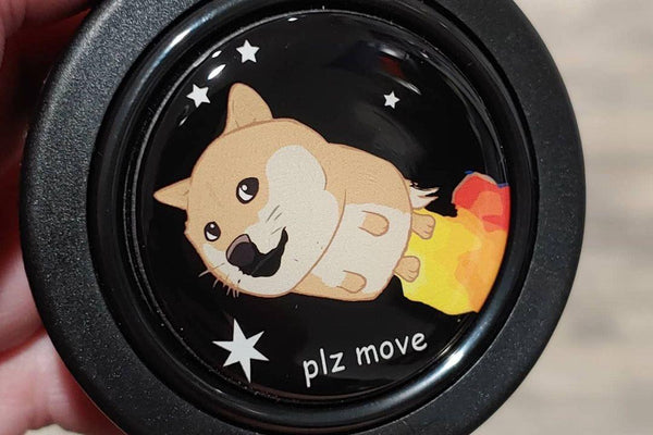 Rocket DOGE - Horn Button