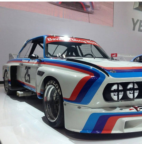 Vintage Livery Inspired Bmw Racing Numbers