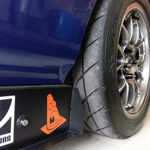 Screaming Cone Decal