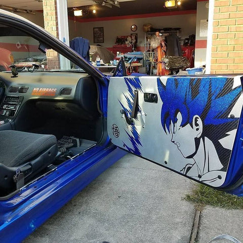 S13 Aluminum Door Panels