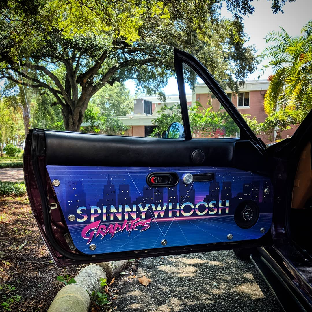 Na Miata Aluminum Door Panels Spinnywhoosh Graphics