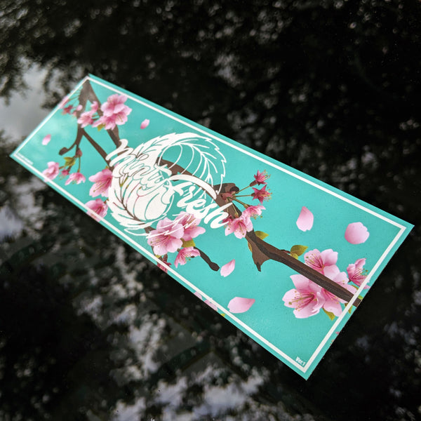 Minty Fresh V1 Slap Sticker
