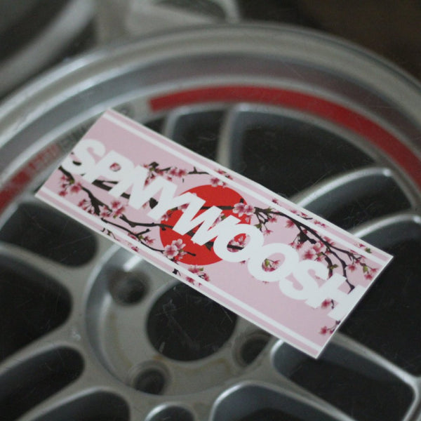 Sakura SPNYWOOSH Slap Sticker