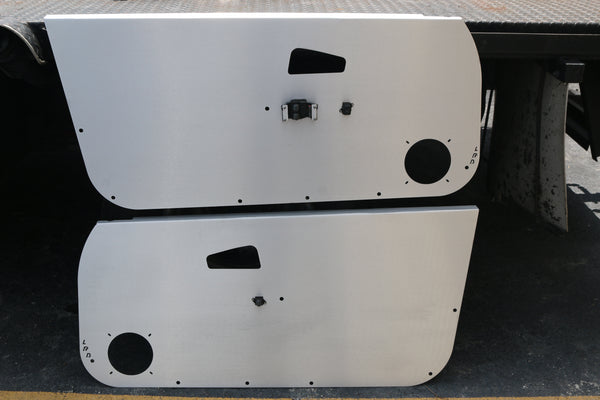 92-95 Honda Civic Aluminum Door Panels