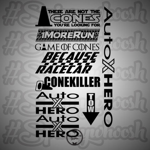 AutoXHERO Decal Bundle