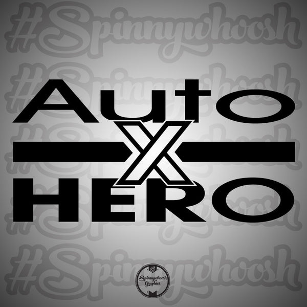 AutoXHERO Decal