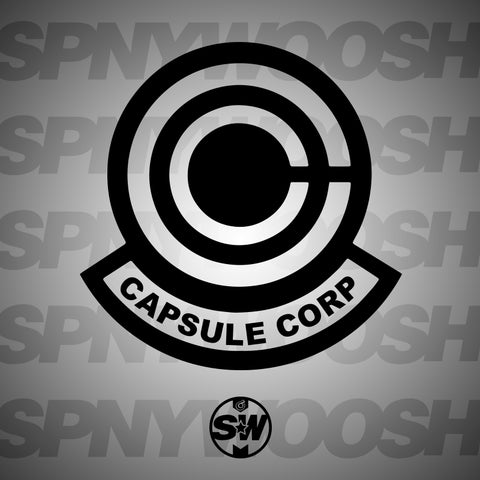 Capsule Corp Decal