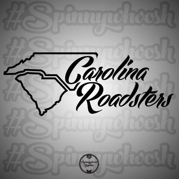 Carolina Roadsters Decal