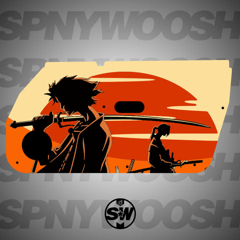 Champloo Door Card Vinyl Design