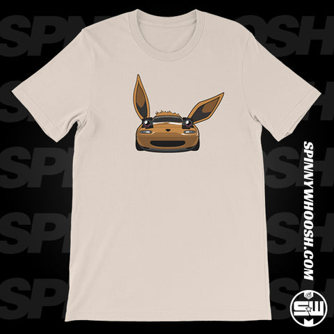 Eevee Pokemon Miata Tee Shirt