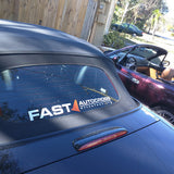 FAST Autocross Banner