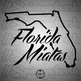Florida Miatas Decal