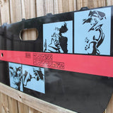 Bebop Door Card Vinyl Design